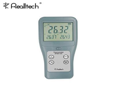 RTM1103接触式高精度金属测温仪3通道热电偶温度表数显温度计